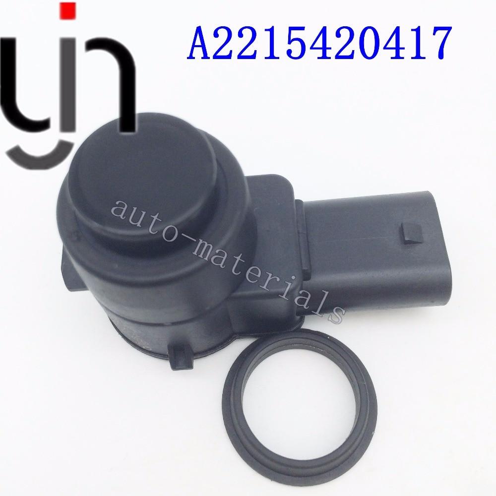 PDC Sensores de ayuda de control de la distancia de estacionamiento para Mercedes GL320 GL350 ML320 ML350 C320 SL500 E R S Clase A2215420417 2215420417 gris