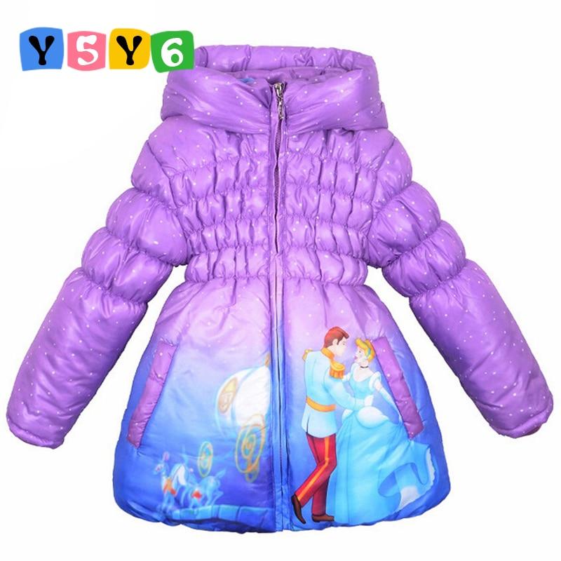 """2018 m. Naujas vaikų paltukas """"Pelenė"""" """"Baby Girls"""" - Vaikų apranga"""