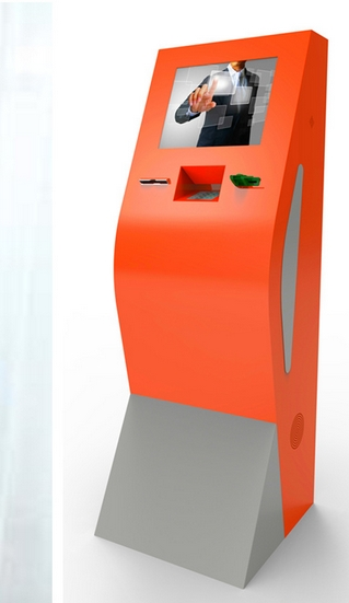 Stand Alone Self Service Touch Screen Payment Information Kiosk Terminal