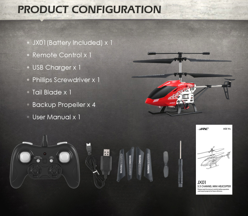 RC Helicopter Channel for 17