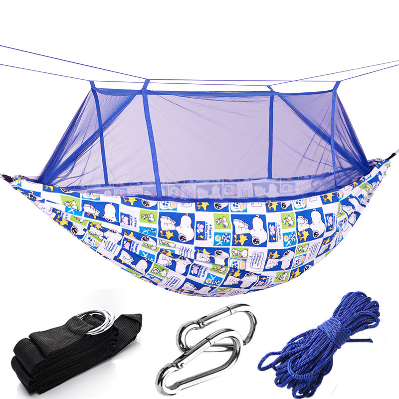 Newest Leisure Hammock Outside Mosquito Prevention Sideways Double People Thicken Swing Little bee Lovers Camping HammocksNewest Leisure Hammock Outside Mosquito Prevention Sideways Double People Thicken Swing Little bee Lovers Camping Hammocks