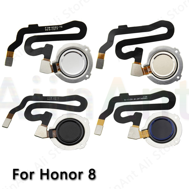 Home Return Button Key Touch ID Fingerprint Sensor Flex Cable For Huawei Honor 8 Lite Connector Parts Fingerprint Sensor Flex