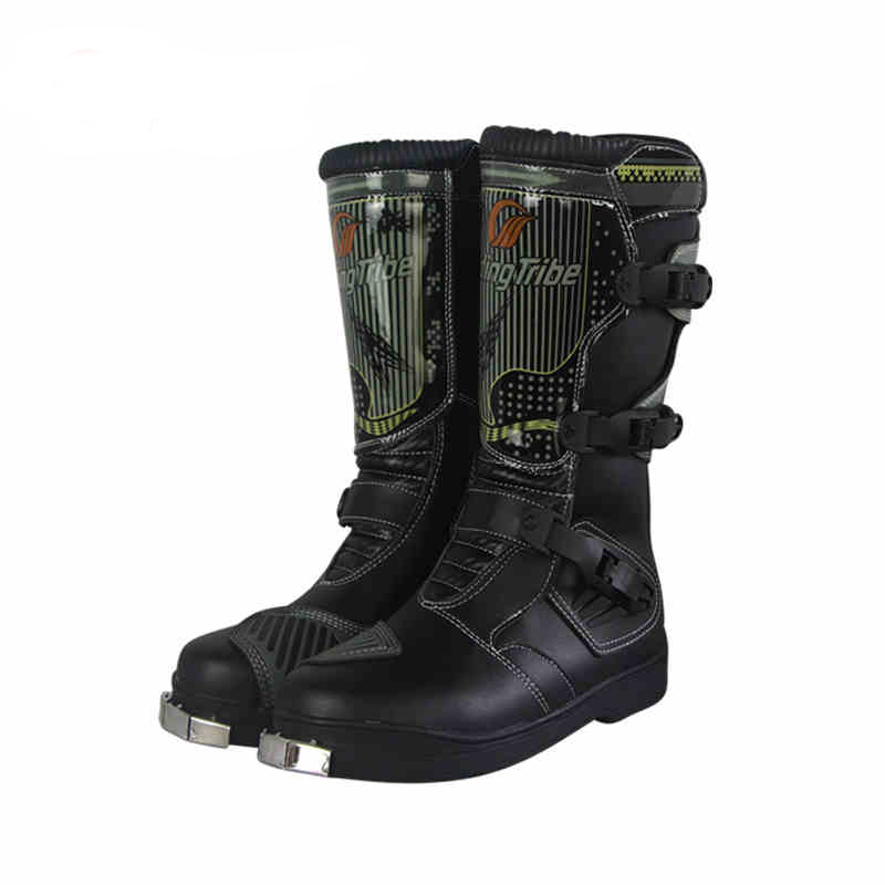 Motocross Boots Racing Motorcycle Riding Shoes Moto Motorbike Cycling Shoes Long Boots Men and Women Motorcycle Boots QP064 наушники beats ep on ear headphones red ml9c2ze a