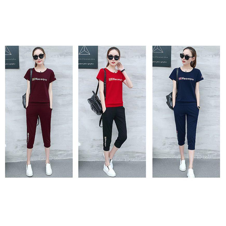 ZYFPGS 2019 5XL Ensemble Femme 2 Pieces Pantalon Tracksuit For Women Summer Suit Biker Shorts Sweatshirt SALE Plus Size Z0712 in Women 39 s Sets from Women 39 s Clothing