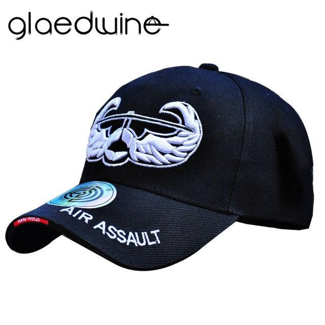 c890de990c9a8 Glaedwine Hot Air Assault Army dad hat Tactical Pattern Cap Cotton Baseball Cap  Men Women Snapback