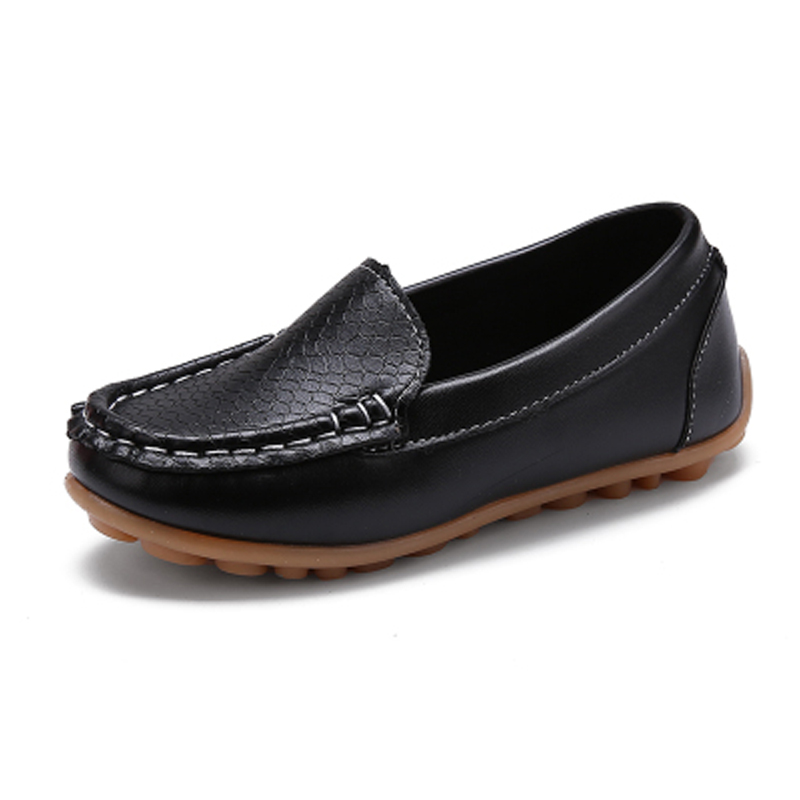 Baby Boys Leather Loafers Kids Shoes Children Footwear Girl Child School Shoes For Girls Barefoot Shoe Fashion Kids Flat 3-16Y