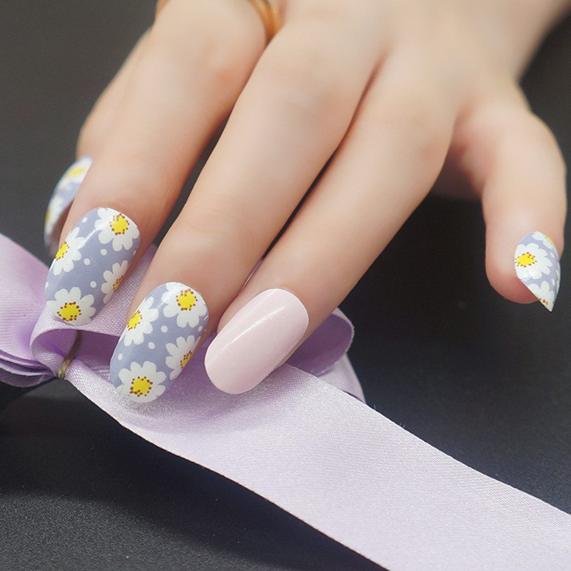 Real Nail Polish Strips French Manicure - Absolute cycle