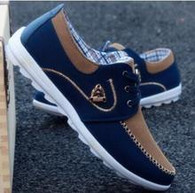 2018 new summer brand canvas casual mens flat shoes matching exercise men comfortable tenis boat size 39-46
