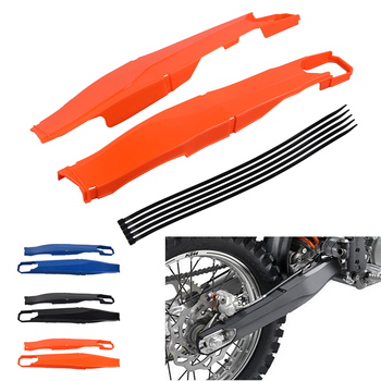 universal motorcycle rear swingarm fork protector sticker cover decals for ktm sx mx sxf exc exc f xc f xcf w xcf xcw Motorcycle Swingarm Guard Swing Arm Protector Cover For KTM EXC EXC-F XCW XC-W XCF-W 150 200 250 300 350 450 500 2012-2021 2020