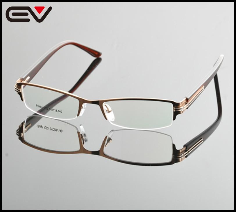 5d99d922b8a 2015 New Unisex Semi Frame eyeglasses Men Brand Eyeglasses Frames Women  Glasses Frame For Myopia lens Optical Frame OculosEV0861-in Eyewear Frames  from ...