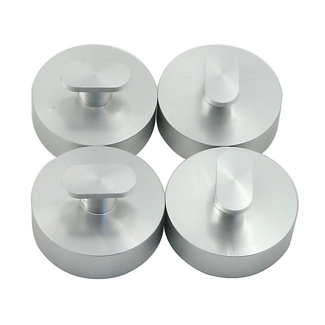 4 stücke CNC Billet Aluminium Top Jacking Lift Pad Puck reparatur Werkzeug Für C7 Corvette C7 Stingray/Z51/z06