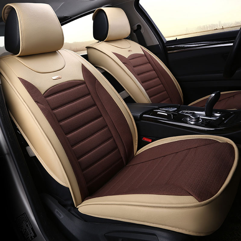 four seasons universal luxury car seat cover automobile seats covers for Jeep grand cherokee compass commander renegade wrangler