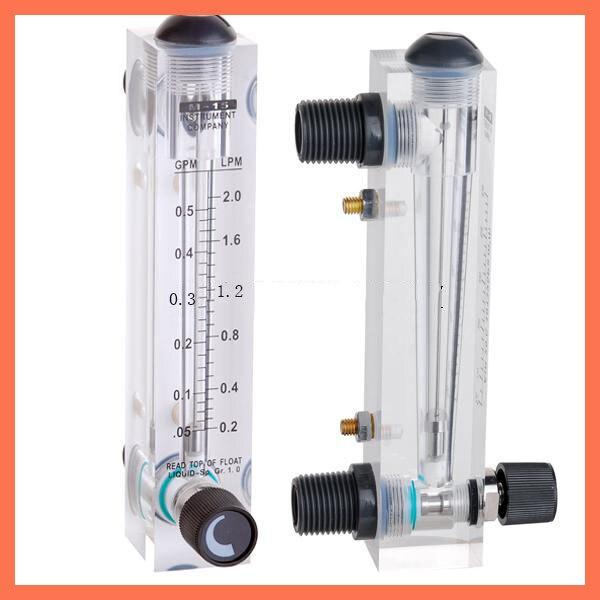 ФОТО LZM-15 panel type 0.5-5GPM(0.2-2L/min) without control valve flowmeter(flow meter) lzm15 panel/Liquid flowmeters Tools