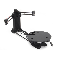 3D Open source DIY 3D scanner kit ,advanced laser scanner black plastic injection molding parts