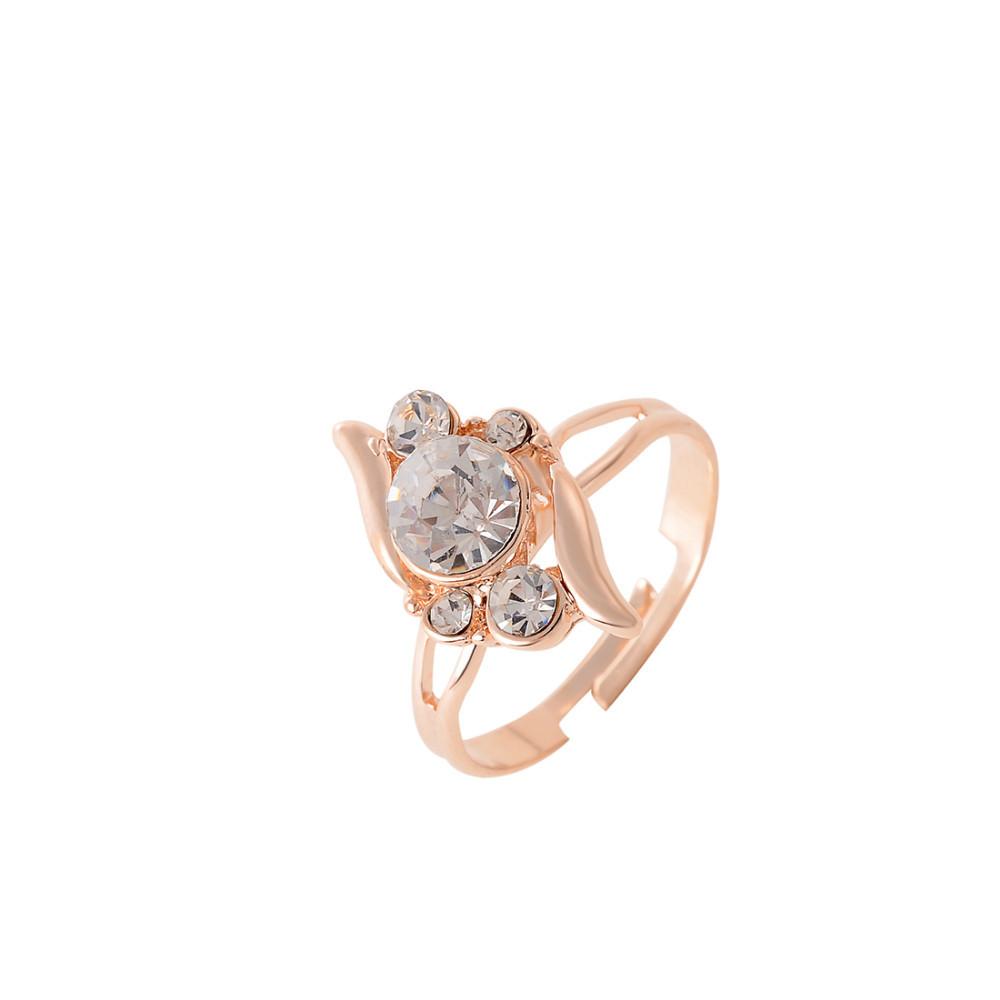 HTB1e46OGVXXXXcQXpXXq6xXFXXXx 3-Pieces Rhinestone Studded Rose Gold Women Jewelry Gift Set