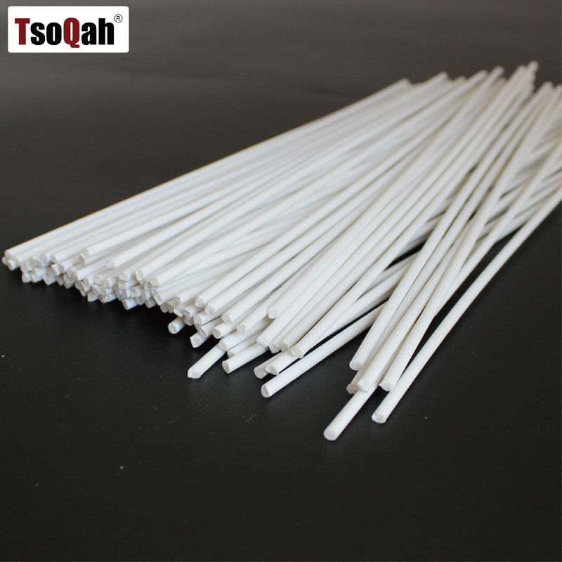 White Round 3mm PVC Plastic Welding Rods For Hot Air Gun Welder Machine Soldering Sticks