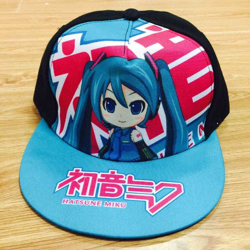 a2af2e3c308 Cosplay Anime Hatsune Miku Baseball Cap Naruto Summer Cap DATE A LIVE Men  Women Snapback Hats One Piece Casual Caps for Gift -in Baseball Caps from  Apparel ...