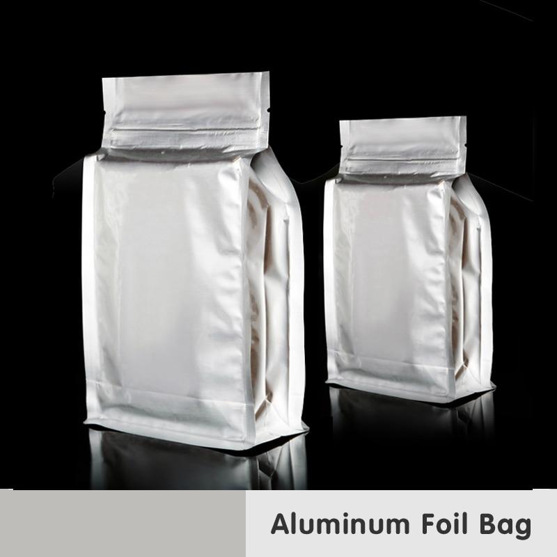 Kapazität Großer Ständer Verpackung Geruchssicher Gefrierschrank Mylar Bag Snacks Backen Aluminiumfolie Zip Lock Heißsiegel