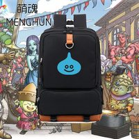 Kawaii ACG GAME Dragon quest lovely monster Slime printing backpacks game fans gift backpack for 15.6 inches laptop NB278