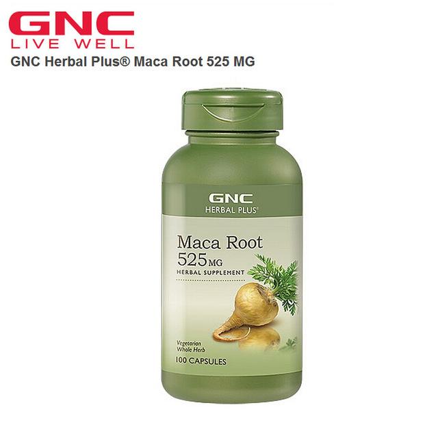 Frete grátis Herbal Plus Maca Root 525 MG 100 Cápsulas