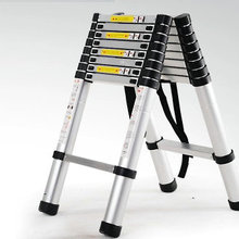 Ladder Folding Retractable Library/engineering Aluminum Multi-Purpose Herringbone
