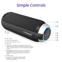 BEST Tronsmart Element T6 Bluetooth Portable Speaker Soundbar Wireless Speaker Mini Speakers PC Speaker for Music MP3 Player