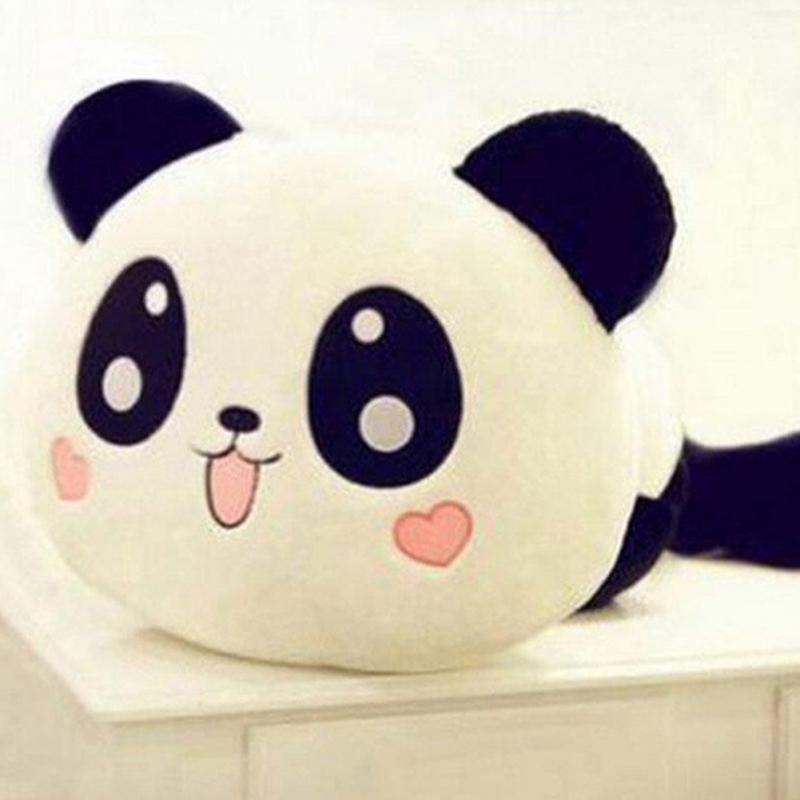 NEW 2016 20cm Giant Panda Pillow Mini Plush Toys Stuffed Animal Toy Doll Pillow Plush Bolster Pillow Doll