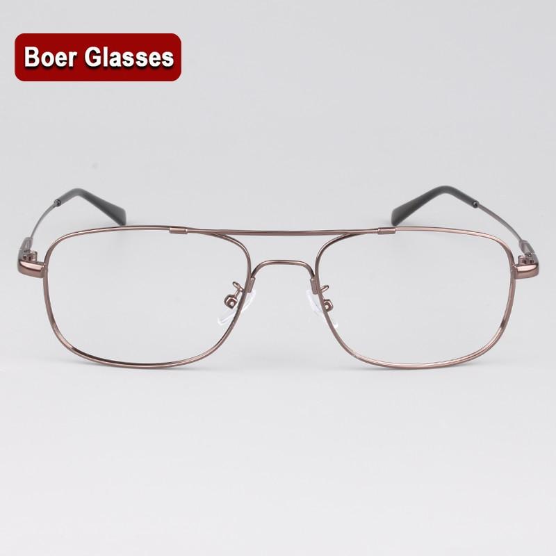 Män med full fälg Glasögon Ramglasögon Ram RX glasögon kopplar av full flex minne titanium glasögon Ram brilkar 8909