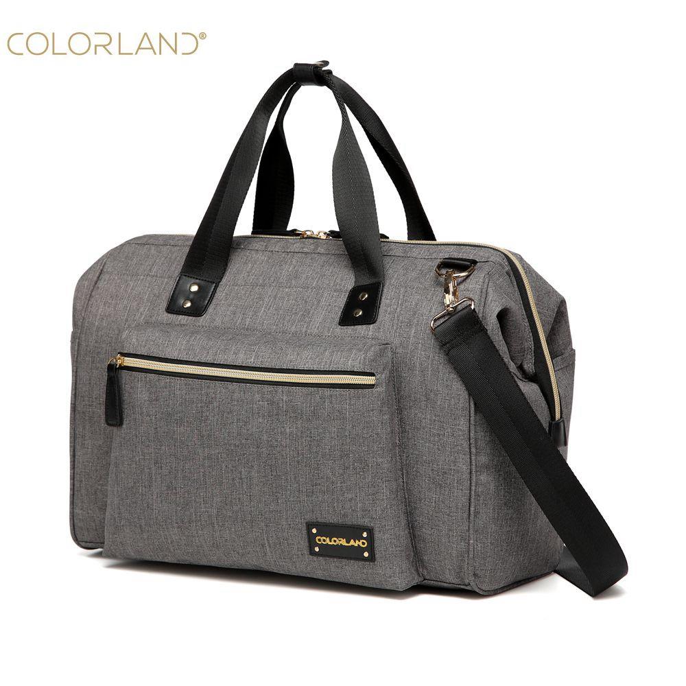 Colorland grand sac à langer organisateur sacs à couches sacs de maternité pour mère bébé sac poussette sac à main sac à main bolsa maternidade