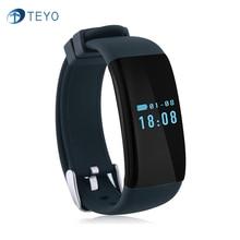 Teyo D21 Bluetooth Смарт Браслет Браслет IP66 Водонепроницаемый Шагомер Спорта Сердечного ритма Сна Монитор Tracker для iOS Android