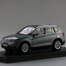 Gray New 1/18 X3 SUV Diecast Model Car Chinese Model 3 Colors Available Miniature Luxury Cars