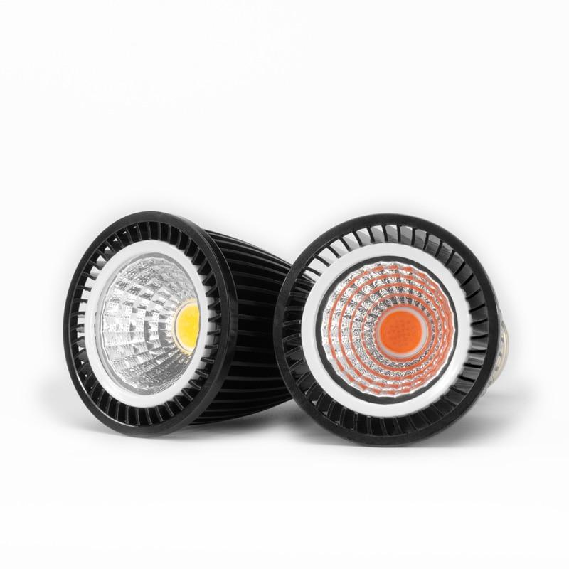led espectro completo spotlight bulbo gu mr e27 e14 5 w 7 9 12 foco lampada