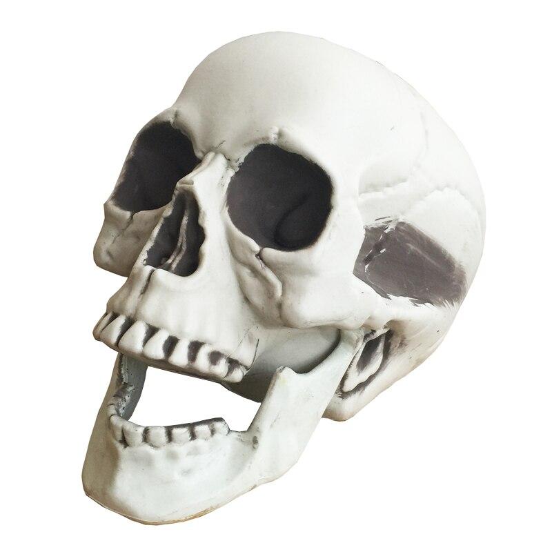 halloween skeleton skull halloween skull bones life size160 skull haunted house escape horror props decorations