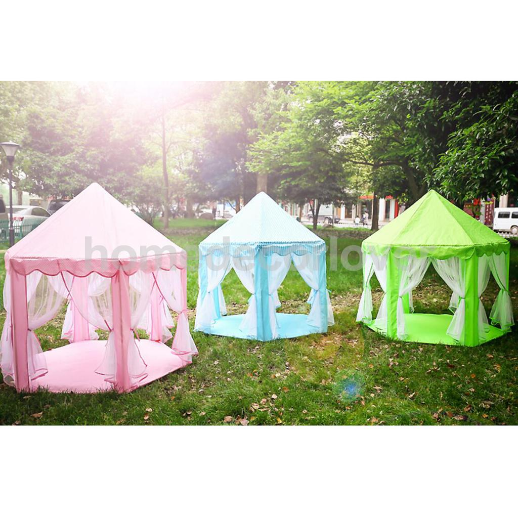 Cute Princess Portable Playhouse Indoor & Outdoor Kids Play Tent Castle Toy