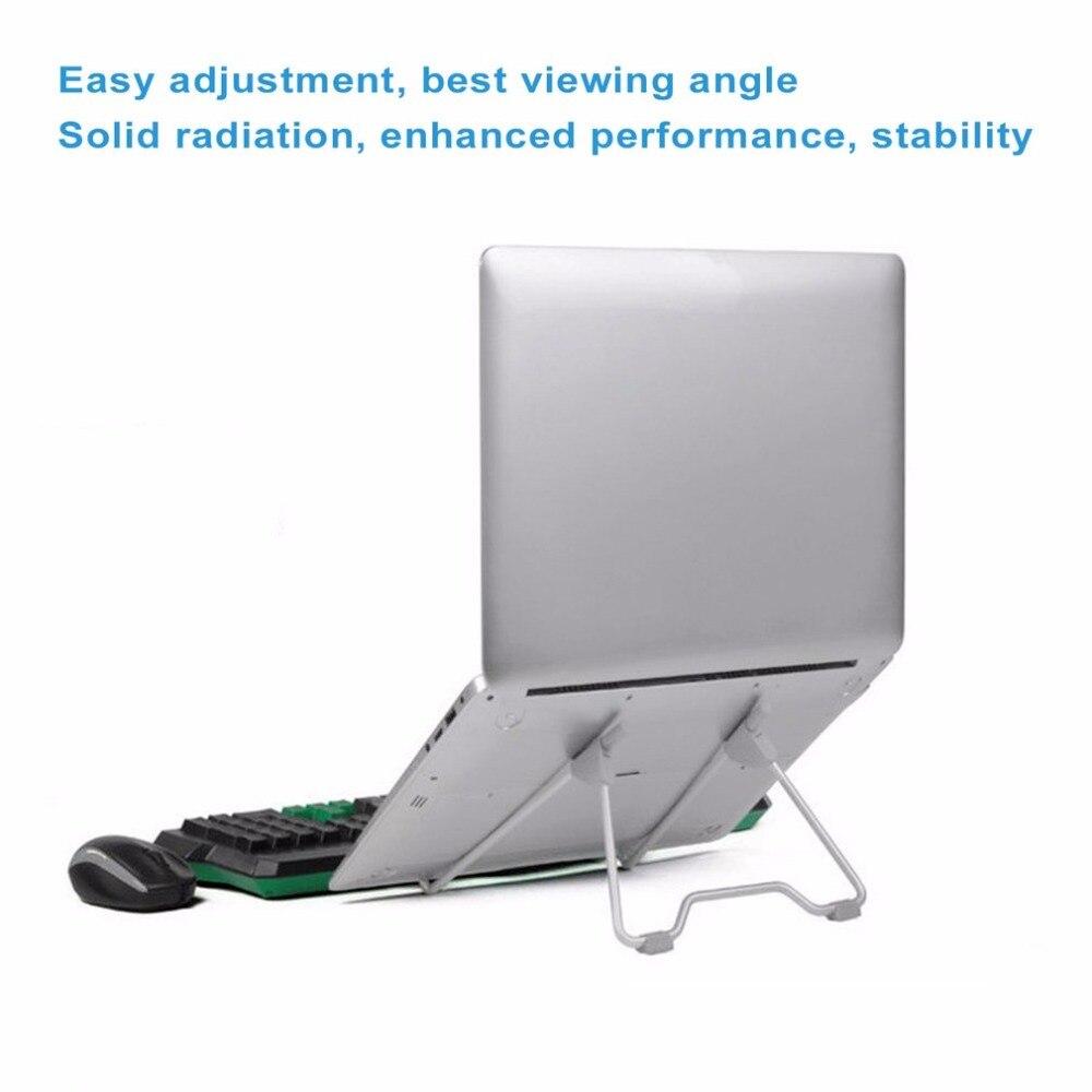 Multifunctional Folding Portable Tablet PC Laptop Stand Holder for Desktop Computer Bracket for iPad Aluminum Alloy