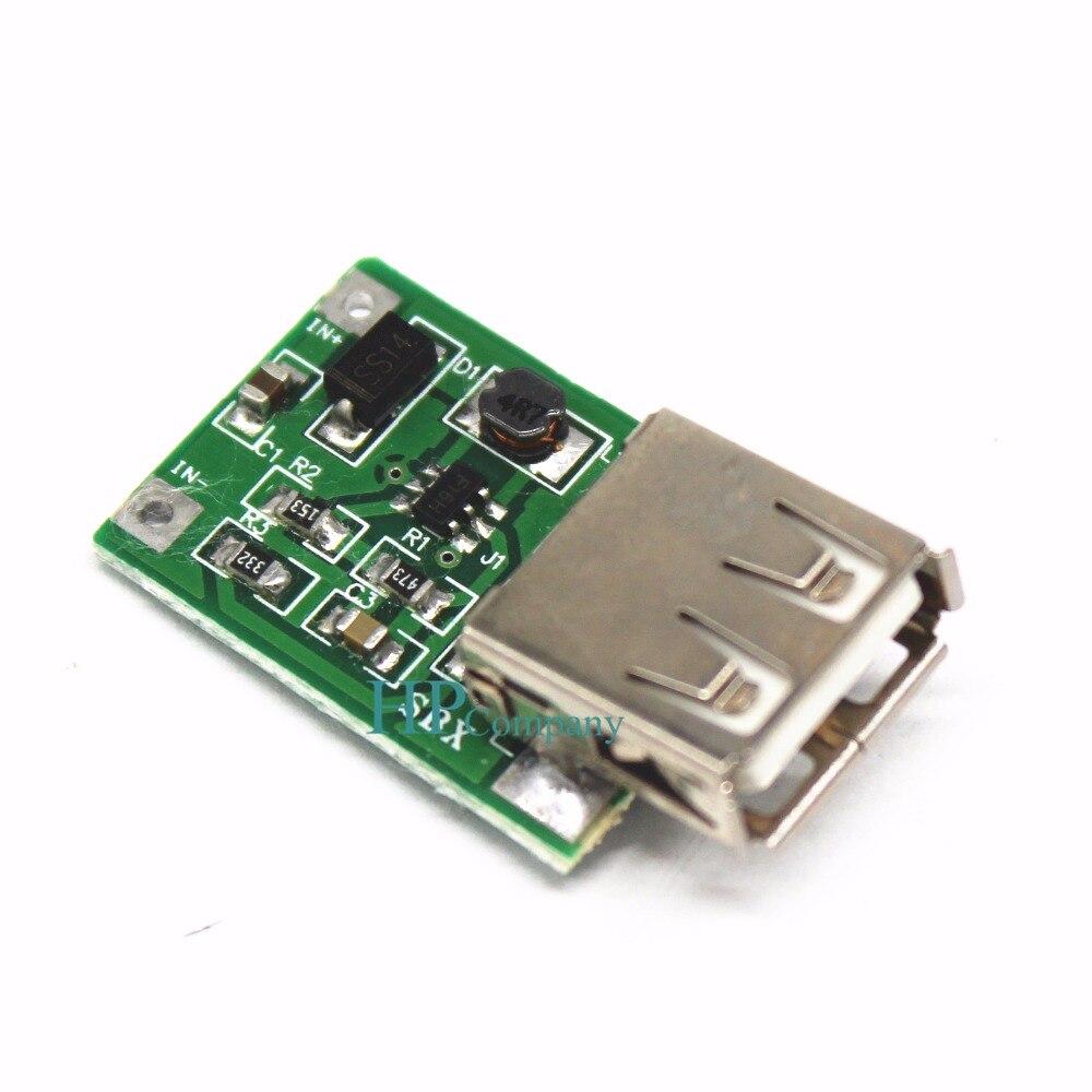 2pcs DC Step Up Regulator Power Module Female USB 0.9-5V To 5V 600mA Converter