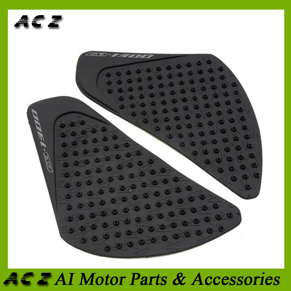 Motorcycle Accessories & Parts Undefined Black Motorcycle Tank Pad Sticker Rubber Knee Grip Protector Decal For Honda Cb650f Motorbike Universal Sufficient Supply Motorbike Accessories