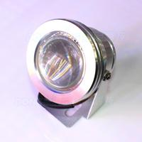 Underwater Led Lights Waterproof Silver Shell Convex Lens AC85 265V Led Pool Lights Underwater High Quality