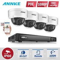 ANNKE 8CH 1080 P HDMI PoE NVR 2.0MP IP Камера POE Системы P2P облако 1080 P NVR комплект Камеры Скрытого видеонаблюдения Системы CCTV Системы PoE Комплект