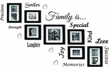 Family Is Word Cloud Quote Vinyl Wall Art Sticker Mural Decal Home Decor Living Room DIY Wallpaper Removable W-47
