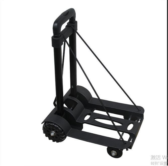 Chariot de voyage Portable pliable chariots à bagages à domicile réglables chariot d'expédition chariot fixe sacs de voyage accessoires fournitures