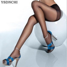 YSDNCHI New High Elastic Black Stockings Women Pantyhose Sexy Skinny Legs Tights Prevent Hook Silk Collant Medias Girl Pantys