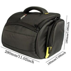 Image 4 - Bolsa de hombro para cámara DSLR, resistente al agua, para Nikon D3300, Canon, 200D, Pentax, Sony, Fujifilm, XE3, Olympus