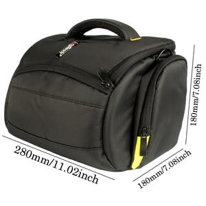 Image 4 - DSLR Camera Case Shoulder Bag Waterproof for Nikon D3300 Canon 200D Pentax Sony Fujifilm XE3 Olympus Cover