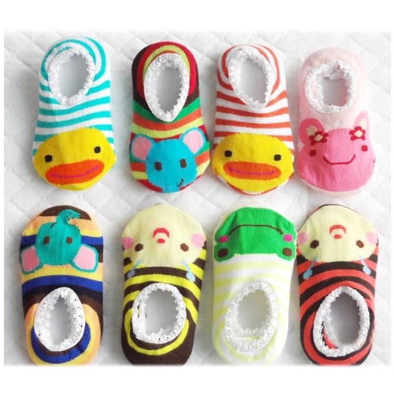 2018 Babysokjes Vloerschoen Pasgeboren sok Voetbescherming Babykamer Meisjes sokken Bebe meisjes casual Kind jongen pantufa katoen