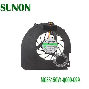 Вентилятор охлаждения для ноутбука Gateway NV52 NV53, серия CPU, MG55150V1-Q000-G99
