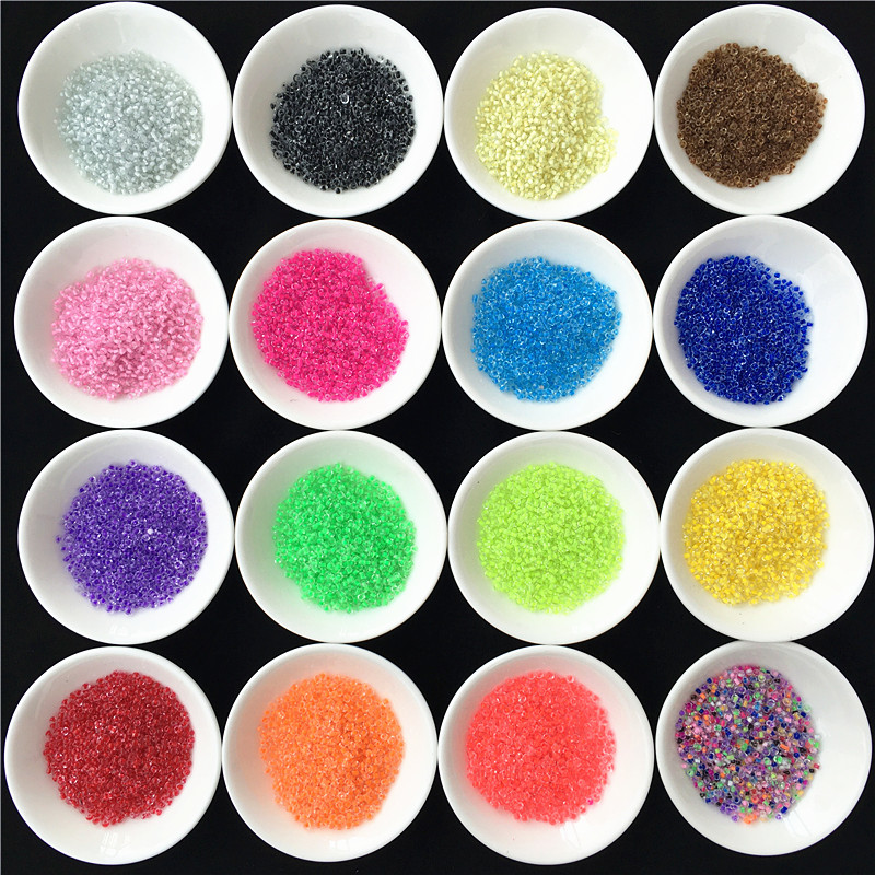 20g/2000pcs 2mm Czech Seed Spacer Beads Mini Glass Seed Beads Diy Jewelry Making Material For Handmade Jewellery Sewing Fittings