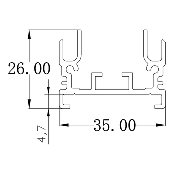 Aluminum Heat Sinks | 10pcs/lot 480W LED Grow Light Heatsink Grow Strip Light Aluminum Heat Sink 1M Grow Lighting Heatsink Only