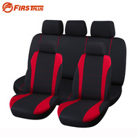 9 Set Full Seat Covers Universal Fit Elastic Polyester Car Crossovers Front Back Seat Cover Auto