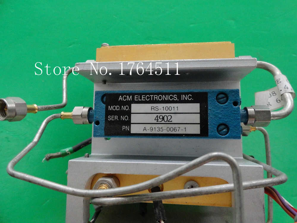 [BELLA] ACM RS-10011 3.61GHz 50MHzBW Supply Test Bandpass Filter SMA